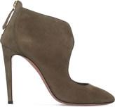Aquazzura Ella suede shoe boots