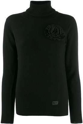 Blumarine Be Roll Neck Sweater