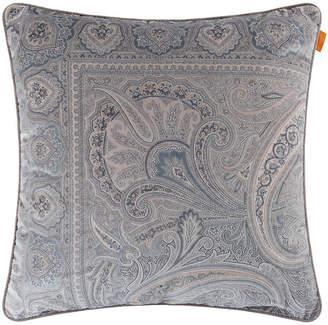 Etro Hokkaido Rishiri Cushion with Cord - 60x60cm - Grey/Silver