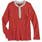 Tea Collection Toddler Boy's Thermal Henley