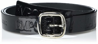 Emporio Armani Women's Patent Leather Belt
