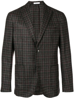 Boglioli classic plaid blazer