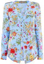 Oasis Spring Botanical Wrap Shirt