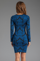 Torn By Ronny Kobo Mammie Long Sleeve Dress
