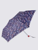 Marks and Spencer Mini Umbrella Print Compact Umbrella with StormwearTM