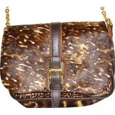 Longchamp Leopard print Leather Handbag