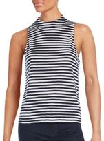 MinkPink Striped Sleeveless Top