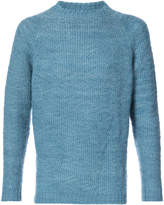 The Elder Statesman textured crew neck sweater