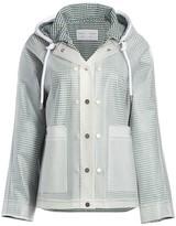 Proenza Schouler White Label Transparent Rain Coat