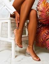 Public Desire Afternoon Perspex Block Heels