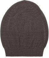 Rick Owens ribbed beanie - men - Cotton - One Size