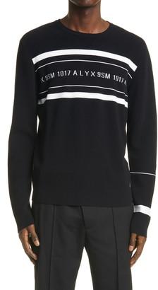 Alyx Stripe Intarsia Logo Sweater