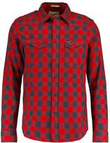 Wrangler Western Forest Night Shirt Pompeian Red