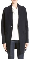 Armani Collezioni Women's Armani Jeans Single Button Wool Coat
