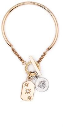 Versace Medusa charm bracelet