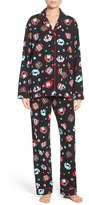 PJ Salvage Women's Print Flannel Pajamas