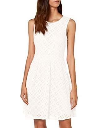 Vero Moda Women's Vmsimone Lace S/l Short Dress Noos Snow White, (Size: X-Large)