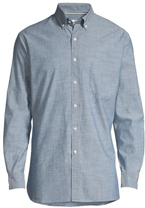 Peter Millar Chambray Sport Shirt