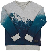 Munster Mountain-Print French Terry Sweatshirt