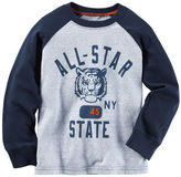 Carter's Long-Sleeve All-Star Raglan Tee
