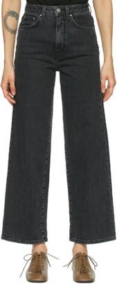 Totême Grey Flair Jeans
