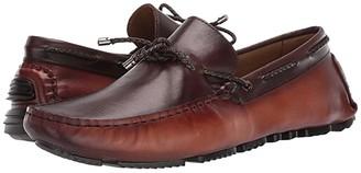 Massimo Matteo Braided Tie Driver (Havana/Cafe) Men's Shoes