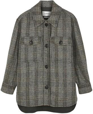 Etoile Isabel Marant Garvey herringbone wool jacket