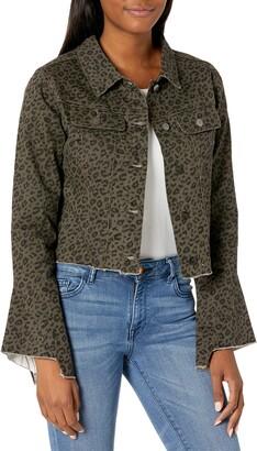 Lola Jeans Women's Cropped Denim Jacket