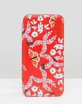 Ted Baker Iphone Flip Case In Garden Print