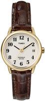 Timex Watch, Women's Brown Leather Strap 25MM T20071UM