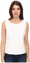 Vince Camuto Sleeveless Crop Shell