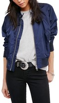 Free People Women's Midnight Bomber Jacket