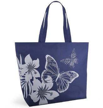 Luna Cove Glitter Butterfly Design Beach/Shoulder/Shopping Bag