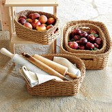Williams-Sonoma Williams Sonoma Panama Weave Washable Baskets, Set of 2