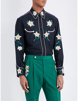Bally Regular-fit Embroidered Woven Shirt