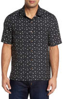 Nat Nast Dice Print Classic Fit Camp Shirt
