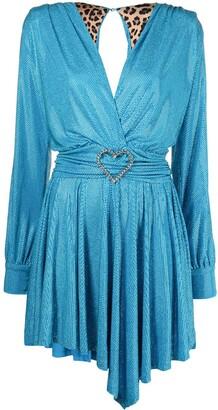 Philipp Plein Aphrodite crystal midi dress