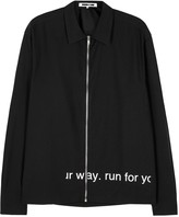 Mcq Alexander Mcqueen Pearson Black Printed Cotton Jacket