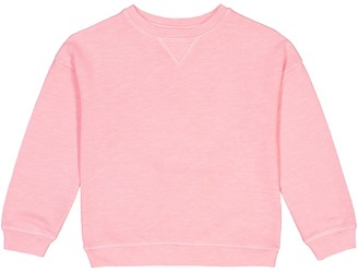 La Redoute Collections Cotton Mix Sweatshirt with Crew-Neck, 3-12 Years