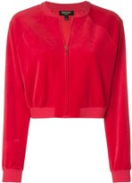 Juicy Couture velour crop jacket