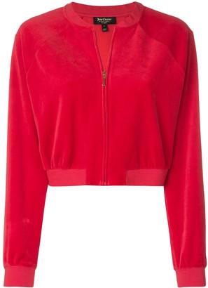 Juicy Couture velour crop jacket