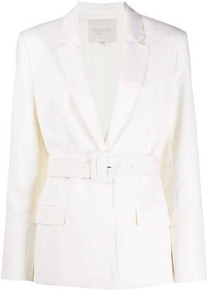 ENVELOPE1976 Belted Long Sleeve Blazer