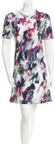 Carven Watercolor Mini Dress w/ Tags