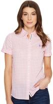 U.S. Polo Assn. Short Sleeve Woven Shirt