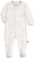 Magnificent Baby Infant Girl's Print Footie