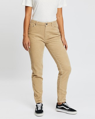 Rusty Mazey High Slim Straight Pants