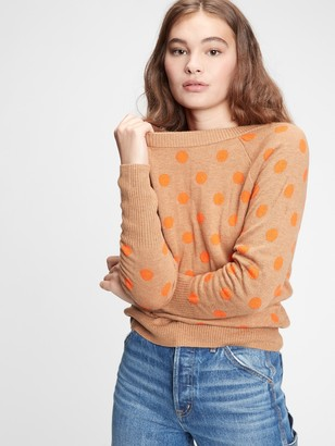 Gap Dotty Boatneck Sweater