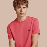 Burberry Cotton Jersey T-shirt , Size: L, Pink