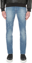 Givenchy distressed slim-fit tapered jeans