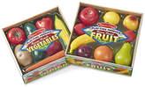 Melissa & Doug Play-Time Fruits And Vegetable Bundle